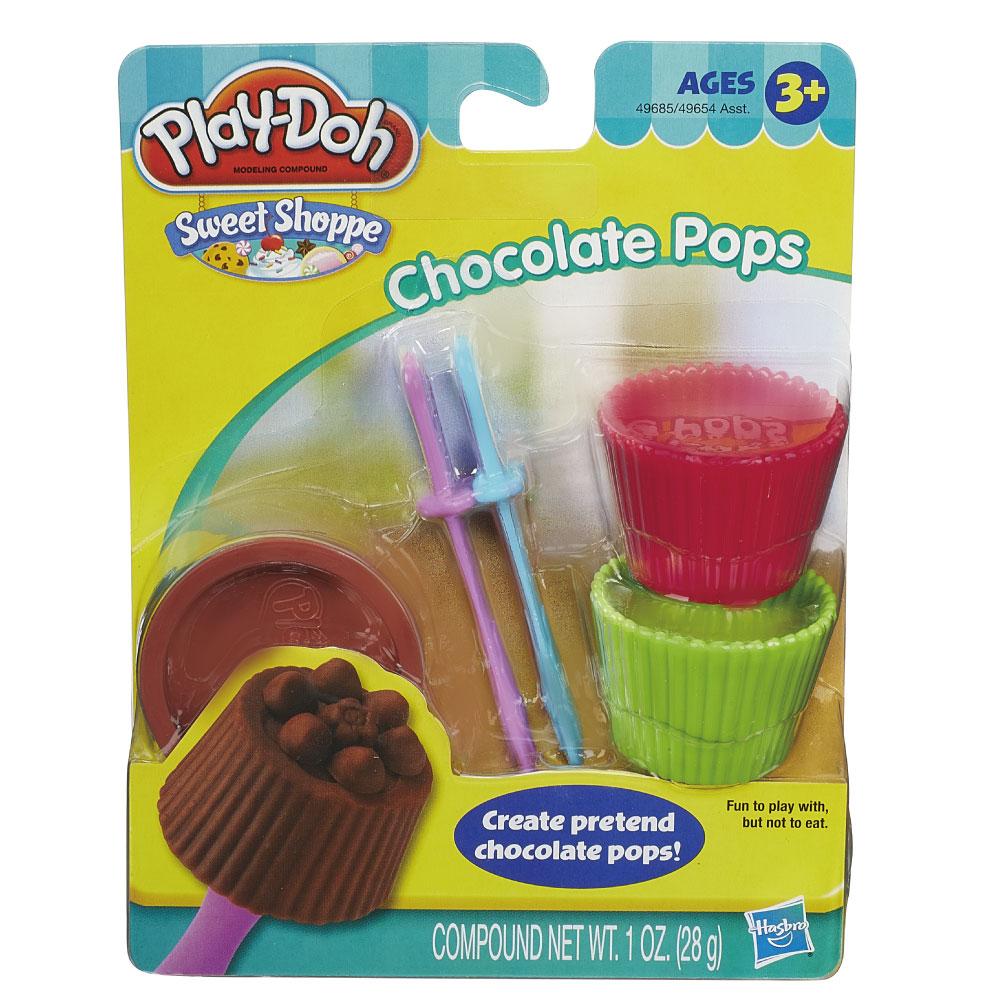 play-doh培樂多迷你甜點工具組-巧克力
