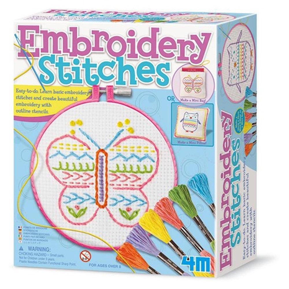 4M美勞創作 刺繡創作家 Embroidery Stitches
