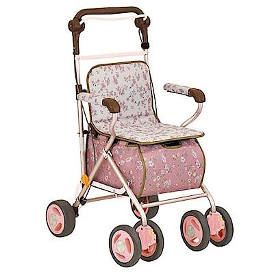 Tacaof幸和 雅緻仕女購物散步車SIST01(粉紅)