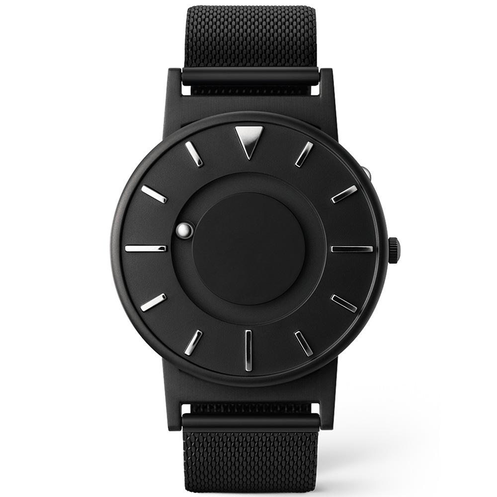 EONE 美國設計品牌 Bradley 觸感腕錶-珍珠黑/40mm