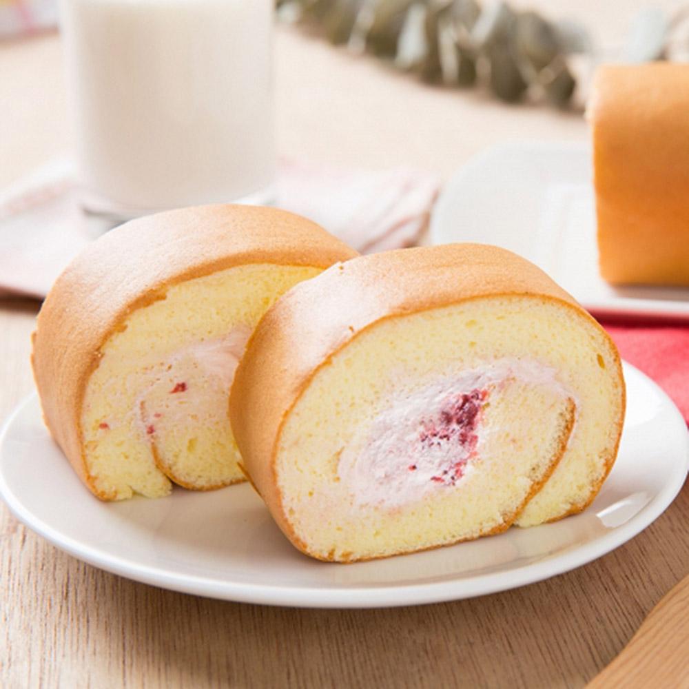 草莓季【連珍】草莓生乳捲+草莓慕斯大福(3入)