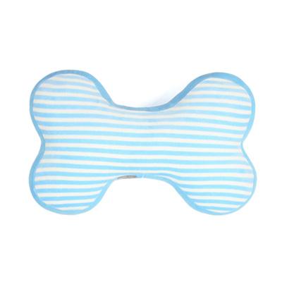 Yvonne Collection立體條紋小骨頭抱枕-灰藍