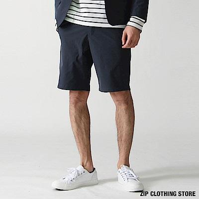 機能防潑水五分短褲 4色  ZIP 男裝
