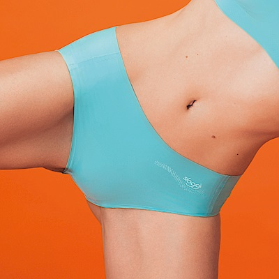 sloggi-ZERO FEEL零感系列平口無痕內褲M-L(沁涼潟湖藍)