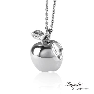 大東山珠寶 純銀項鍊 3D立體小蘋果
