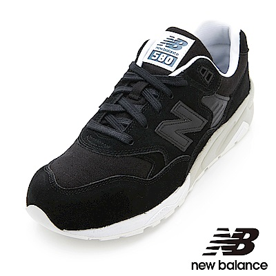 New Balance 580復古鞋MRT580EB中性黑色