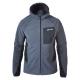【Berghaus 貝豪斯】男款防風刷毛保暖外套H22MU9黑/灰 product thumbnail 1