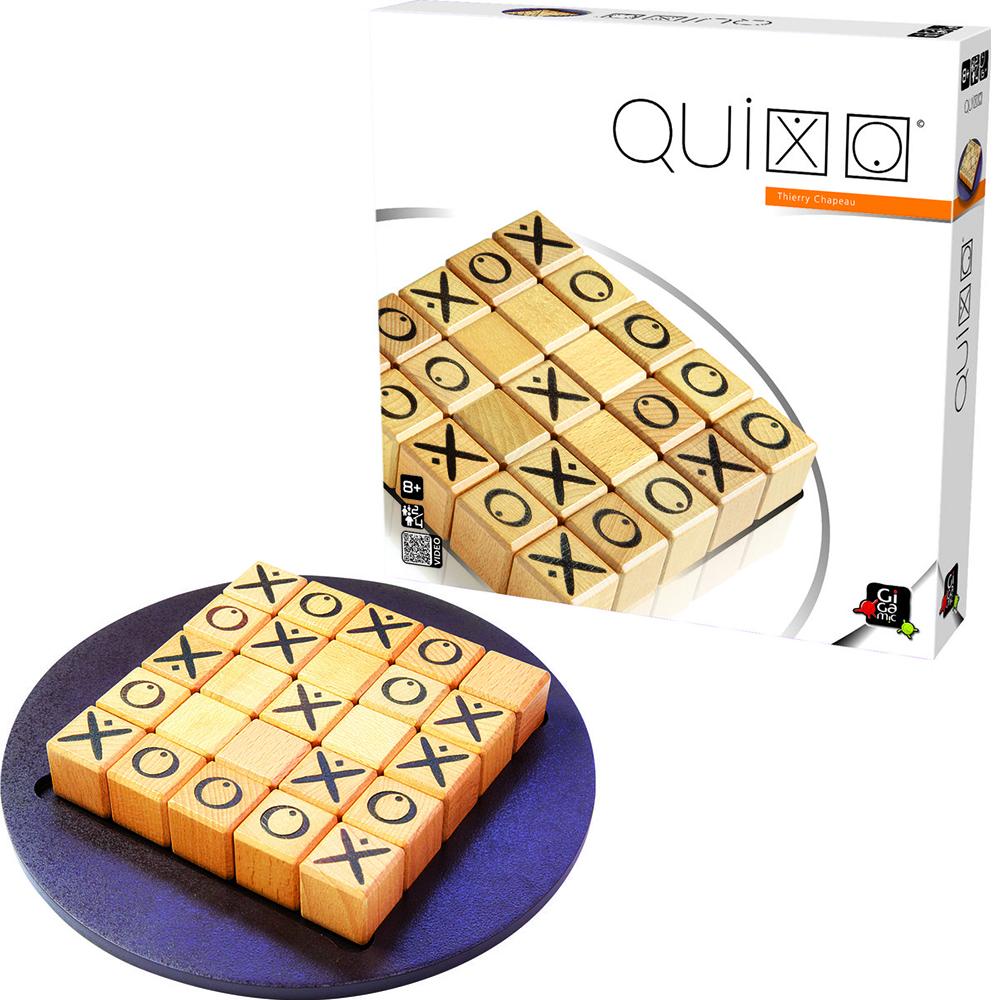 法國經典桌遊 GIGAMIC  你推我擠 QUIXO