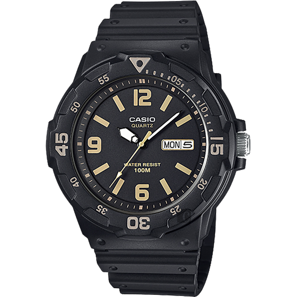 CASIO 卡西歐 DIVER LOOK 潛水運動風手錶-黑/47.9mm product image 1