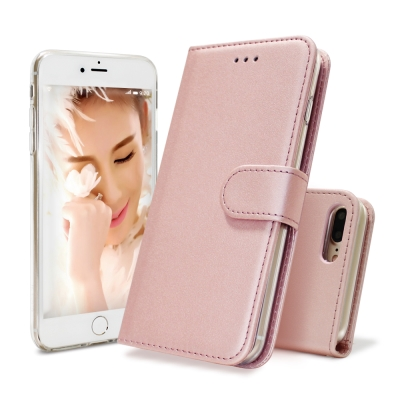 Colors iPhone 8 Plus/7 Plus 5.5吋金莎奢華二合一皮套