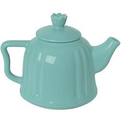 EXCELSA Chic陶製茶壺(荷綠0.6L)