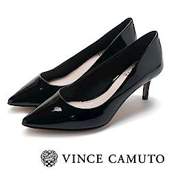 Vince Camuto 首選小羊皮素面高跟鞋-鏡黑