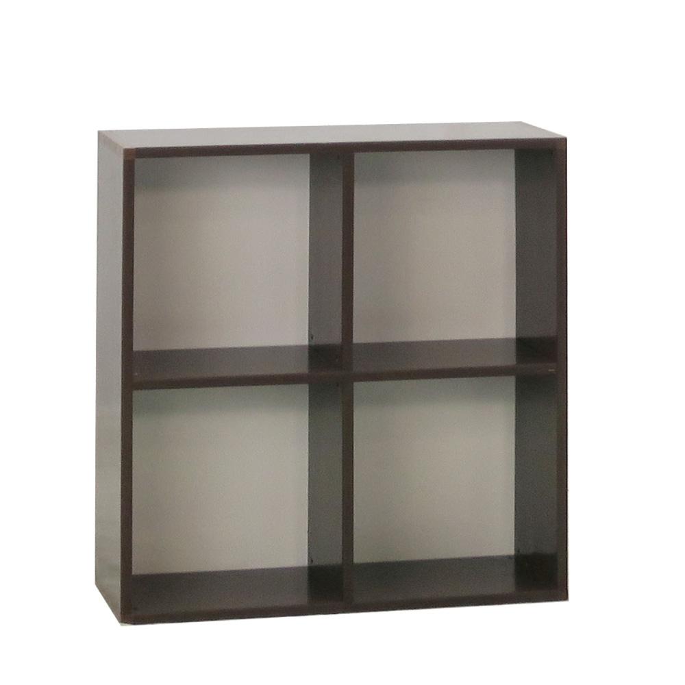品家居 瑪菲2尺環保塑鋼浴室開放式收納櫃(三色)-60x20x64cm-免組