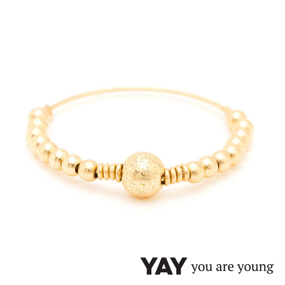 YAY You Are Young 法國品牌 Jimie 吉米戒指 金色