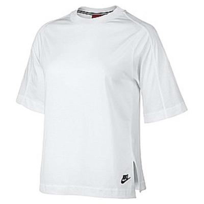 Nike-T恤-W-NSW-Top-女-白-黑