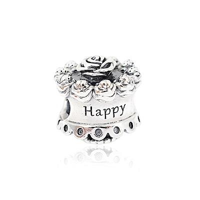 Pandora 潘多拉 可愛蛋糕 純銀墜飾 串珠
