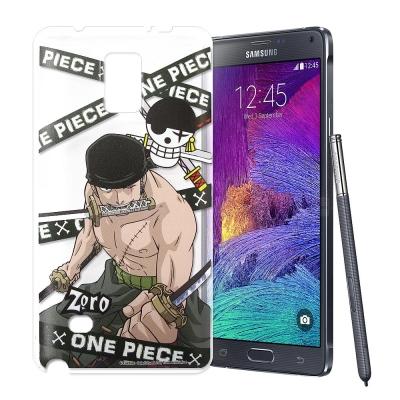 授權正版航海王 Samsung Galaxy Note4 透明軟式手機殼(封鎖索隆)