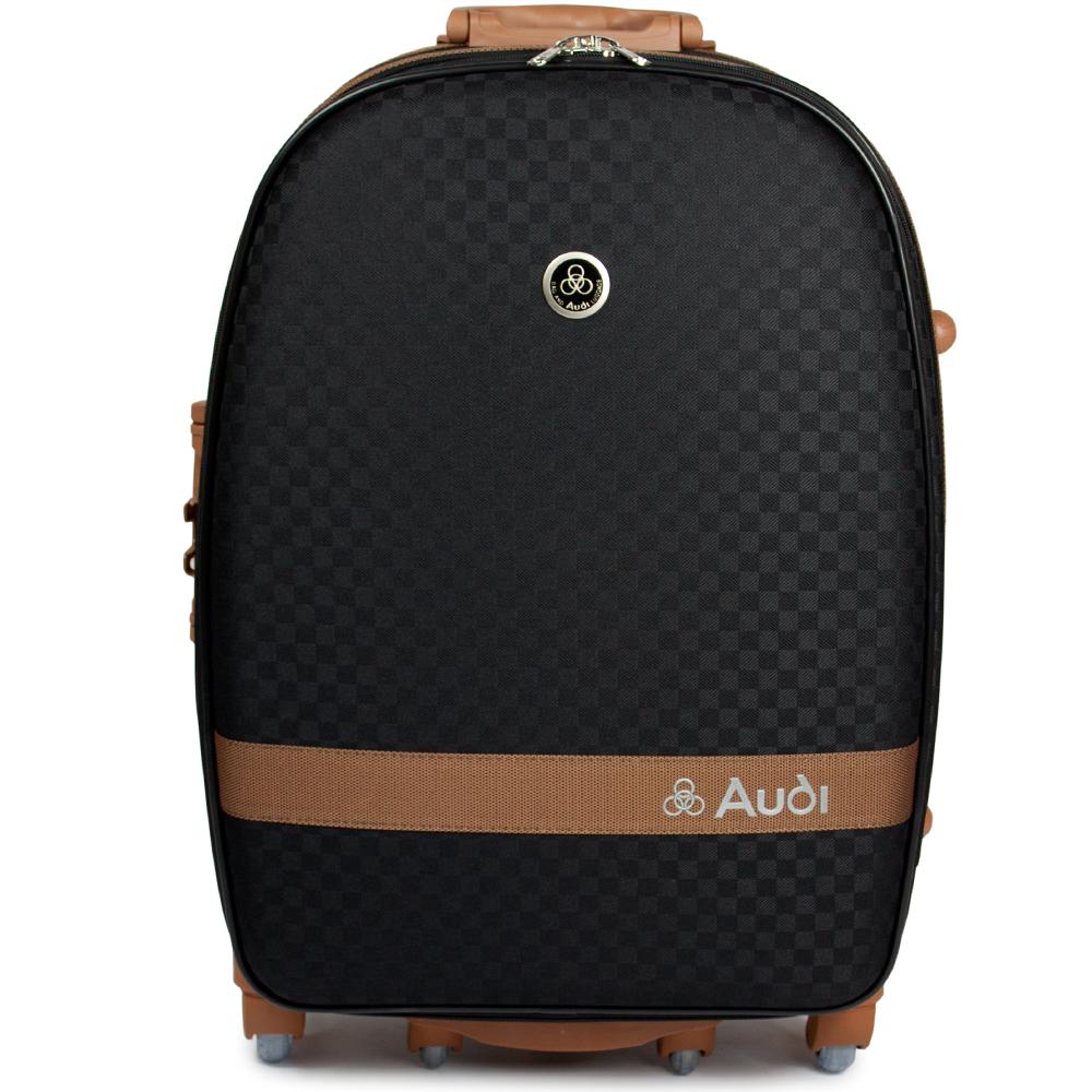 【Audi 奧迪】29吋提花系列7輪360度Audi行李箱旅行箱LT-70529-黑