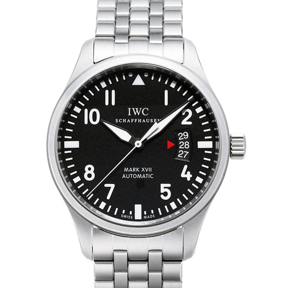 IWC萬國馬克17 Mark XVII黑面機械飛行腕錶IW326504-41mm
