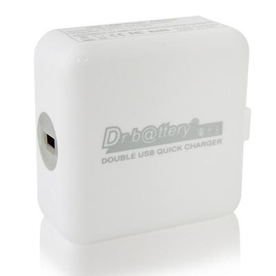 電池王 雙USB輕巧快速充電器5V/3.1A