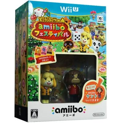 動物之森-amiibo-慶典-同捆日文組-WiiU