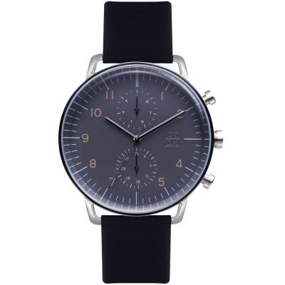ZOOM Refine 旅行者多功能腕錶-暗礦藍44mm