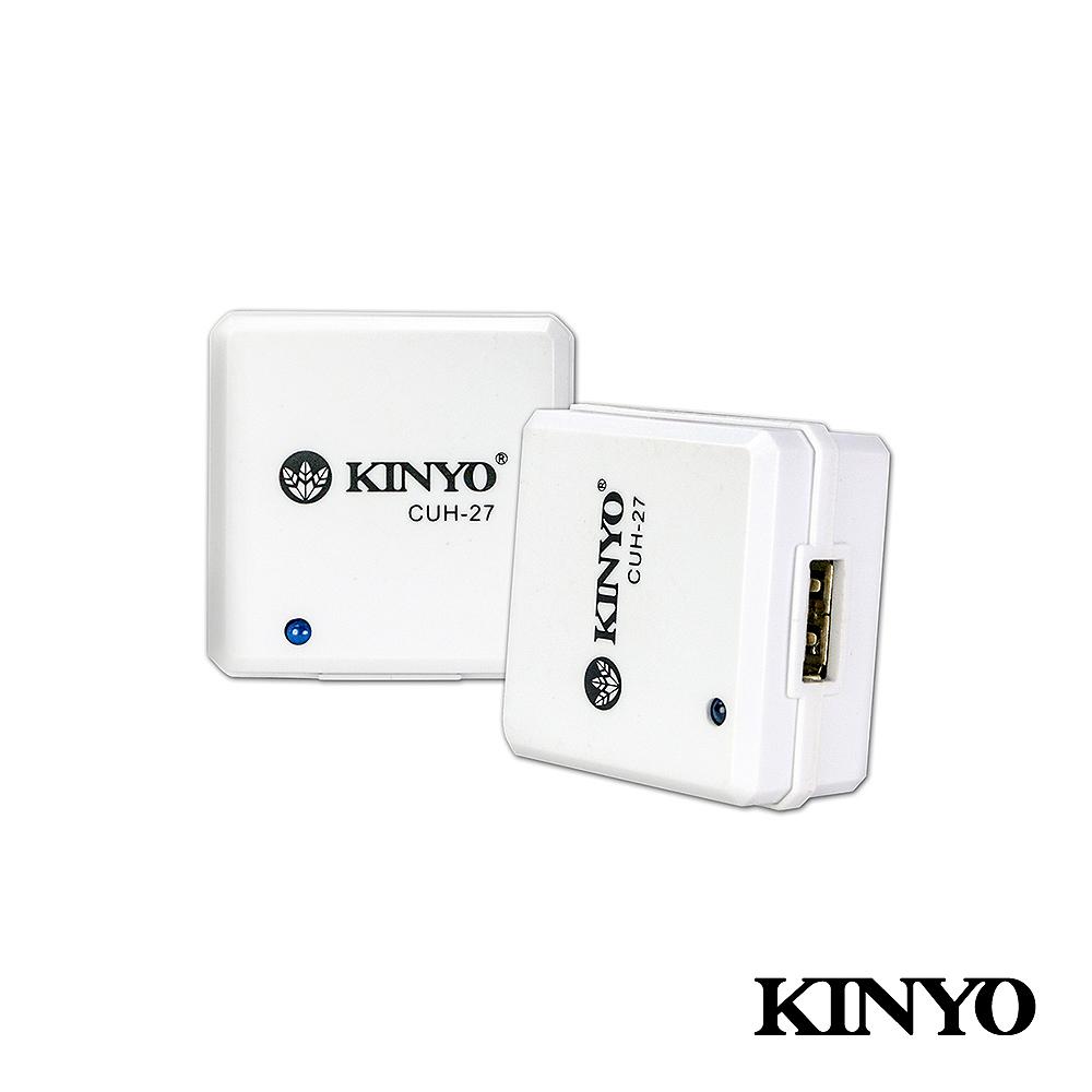 【KINYO】 AC轉USB 充電器 (CUH-27)
