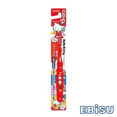 EBISU-Hello Kitty 3~6歲兒童牙刷 B-S20