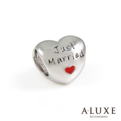 Charming系列 925純銀珠飾-串珠 我心只屬妳 Just Married