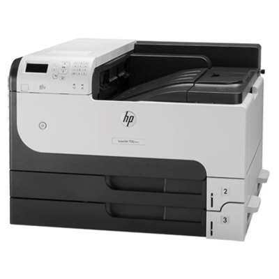 【惠普HP】LaserJet M712dn 雙面網路 A3 黑白雷射印表機