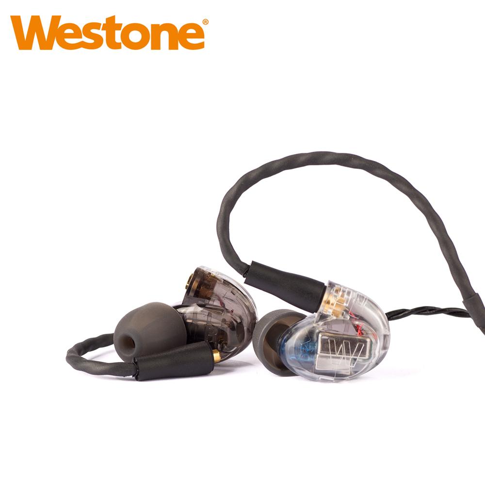 Westone UM Pro 20 New 雙單體可換線專業監聽級入耳式耳機-透明