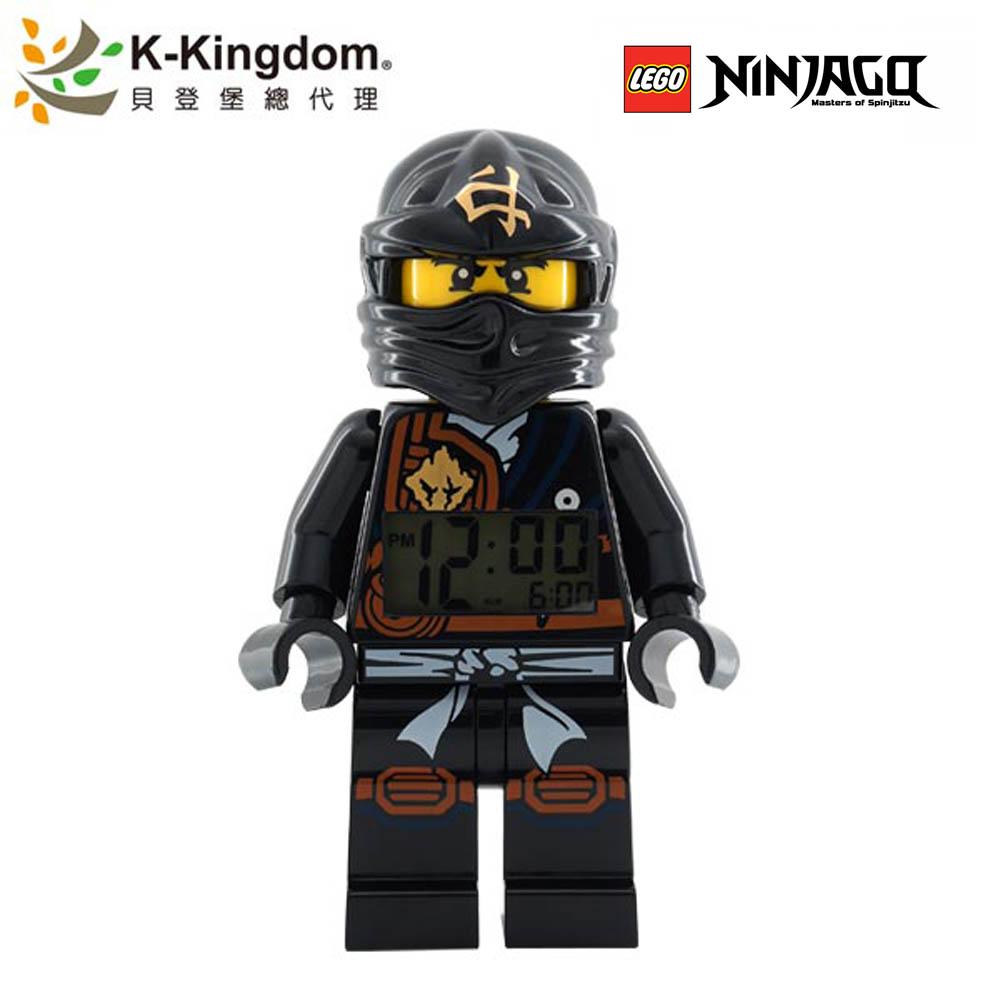 LEGO 樂高鬧鐘 阿剛 黑忍者 土系忍者 9009617
