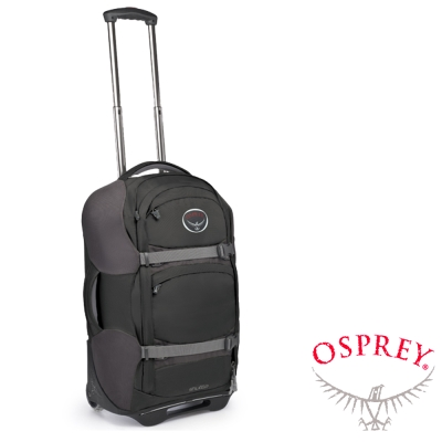 【OSPREY】Shuttle 22吋 暢遊 滑輪旅行箱(40L)/兩用旅行箱_木炭灰