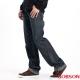 BOBSON 男款內條紋中直筒褲(藍53)