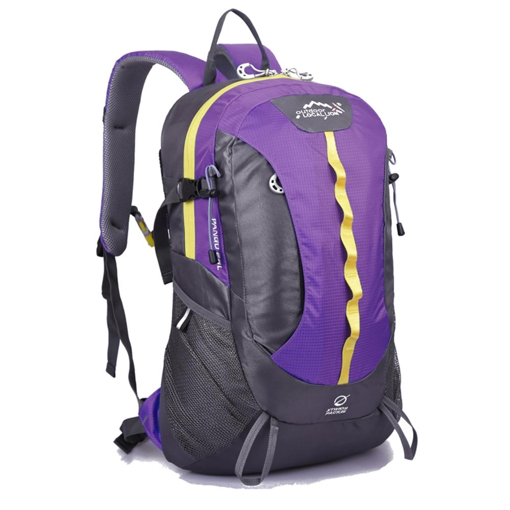 Local Lion 輕量多功能背包/登山包28L 467PE紫色