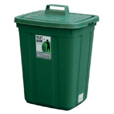 綠生活 26L方型資源回收桶 二入