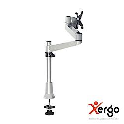 Xergo 穿桌式雙延伸臂螢幕支架-EM33111