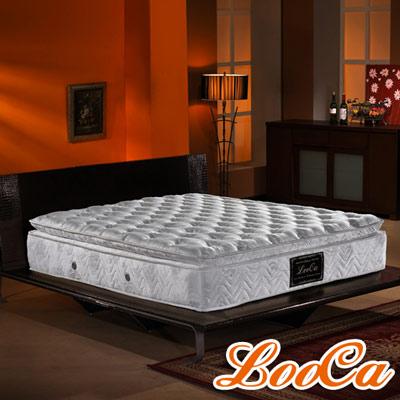 LooCa 晶燦風華五段式乳膠獨立筒床墊-雙人5尺