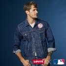 牛仔外套 男裝 LEVI'S X MLB紐約洋基 立體刺繡