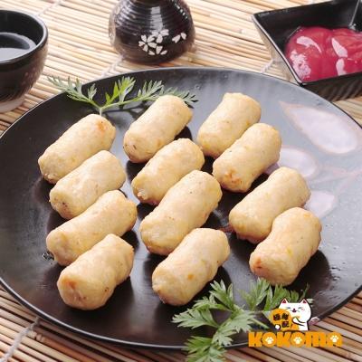 (任選) 極鮮配 金黃手工鱈魚甜不辣 (200g±10%/包)