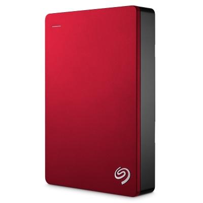 Seagate 4TB Backup Plus行動硬碟-紅色