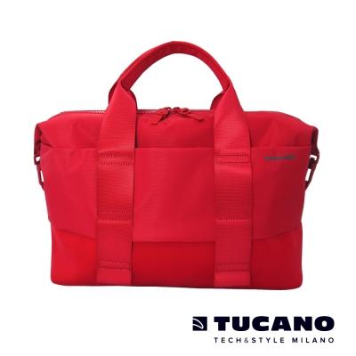 TUCANO MODO 15吋縱橫當代商務托特包- 紅