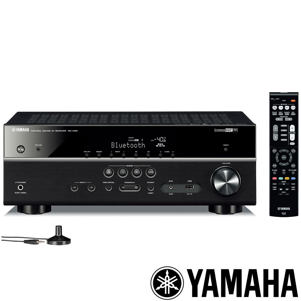 福利品 Yamaha 5.1聲道 Wi-Fi AV擴大機 RX-V481
