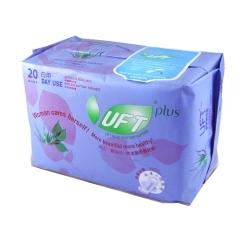 UFT蘆薈草本衛生棉 清新日用1入 20片裝每包