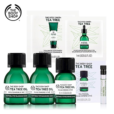 The Body Shop t荳巨星組