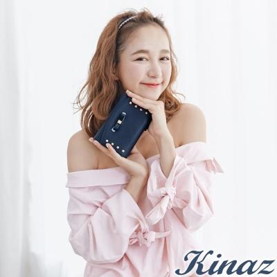 KINAZ-輕優雅三折式中夾-星空藍-兔子系列