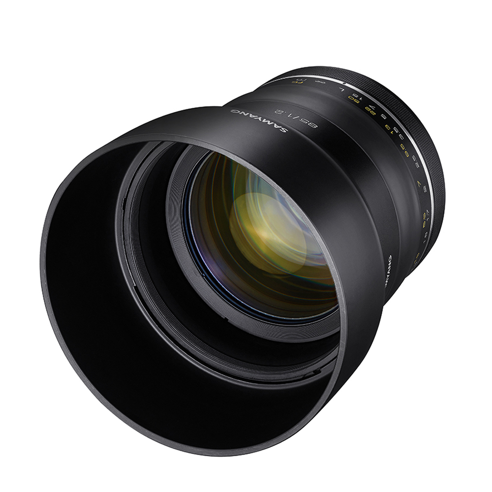 SAMYANG XP Premium 85mm F1.2 大光圈手動鏡FOR Canon (白盒 公司貨)