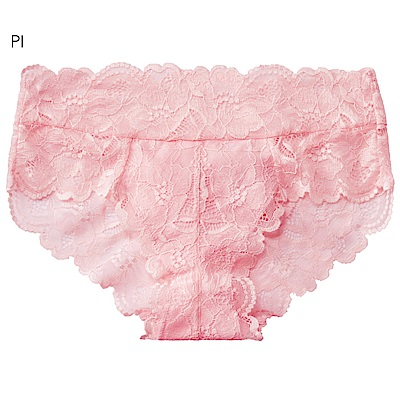 aimerfeel 全蕾絲包覆性感內褲-粉紅色