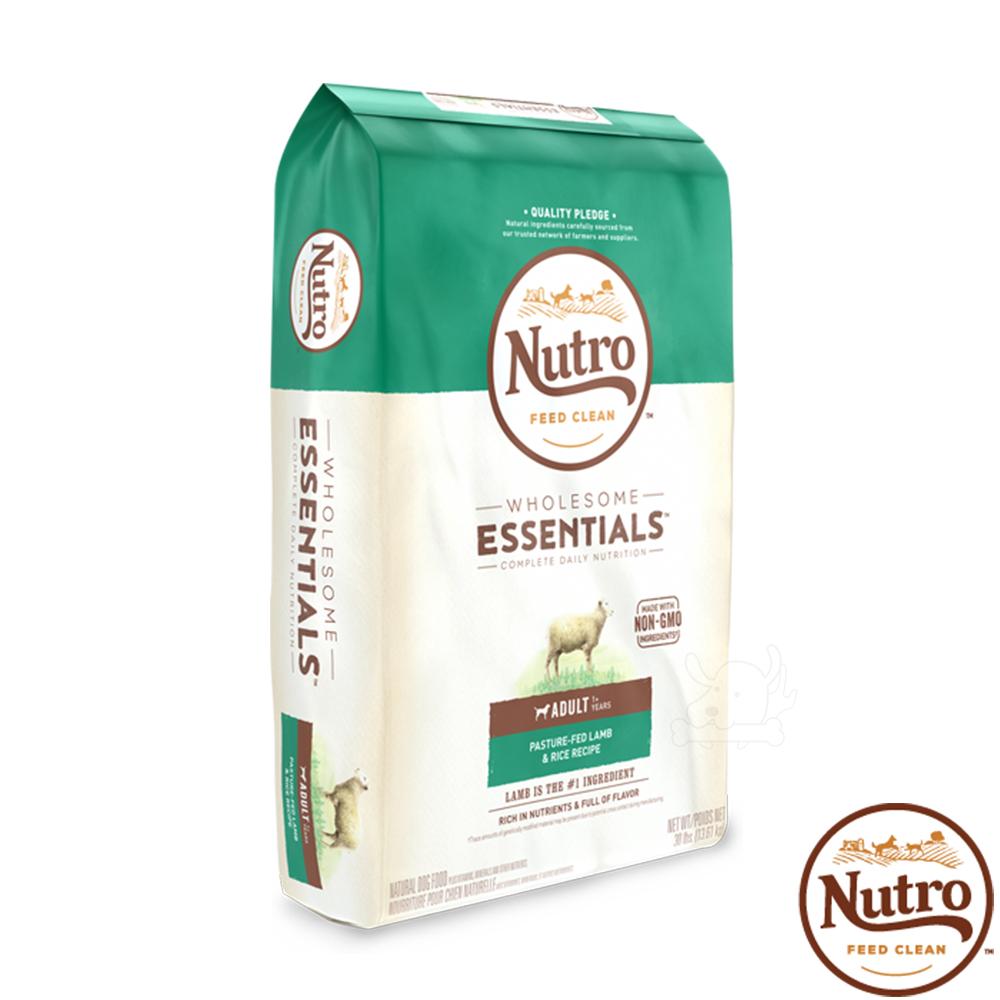 【Nutro 美士】全護營養 成犬(牧場小羊+健康米)30磅 X1包