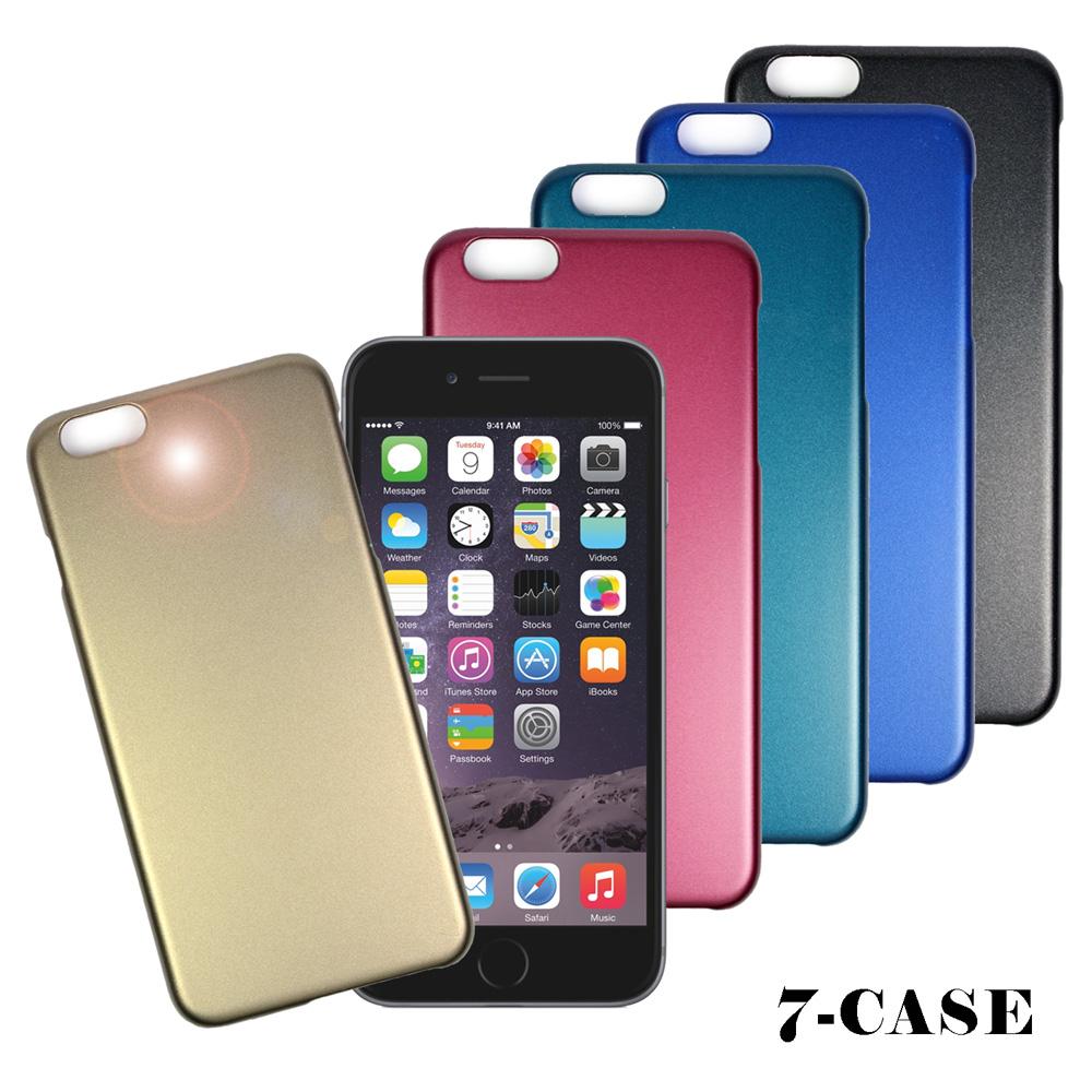 7 Case Apple iPhone 6 Plus金屬噴砂質感保護殼